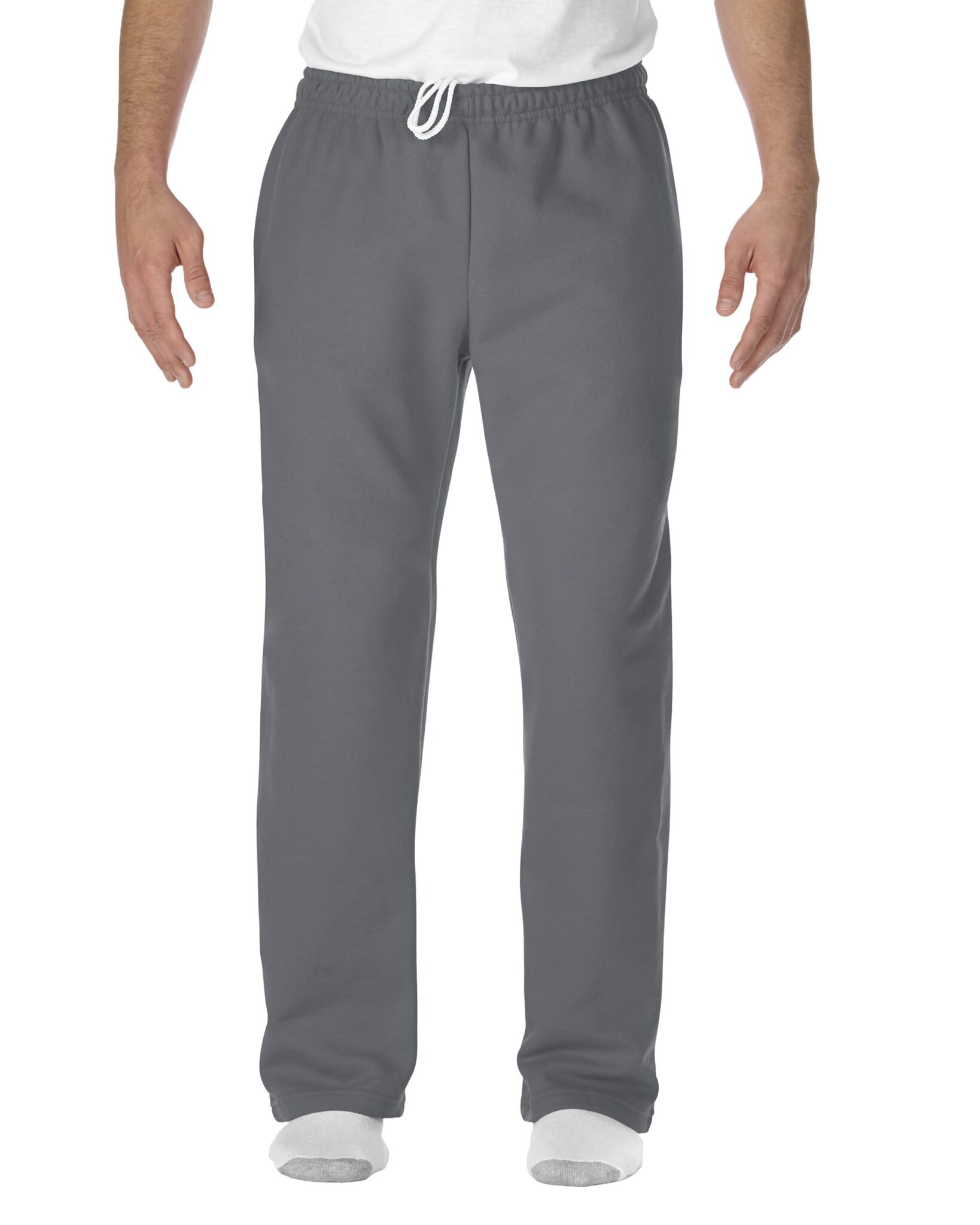 Image of Gildan DryBlend® Open-Bottom Sweatpants with Pockets