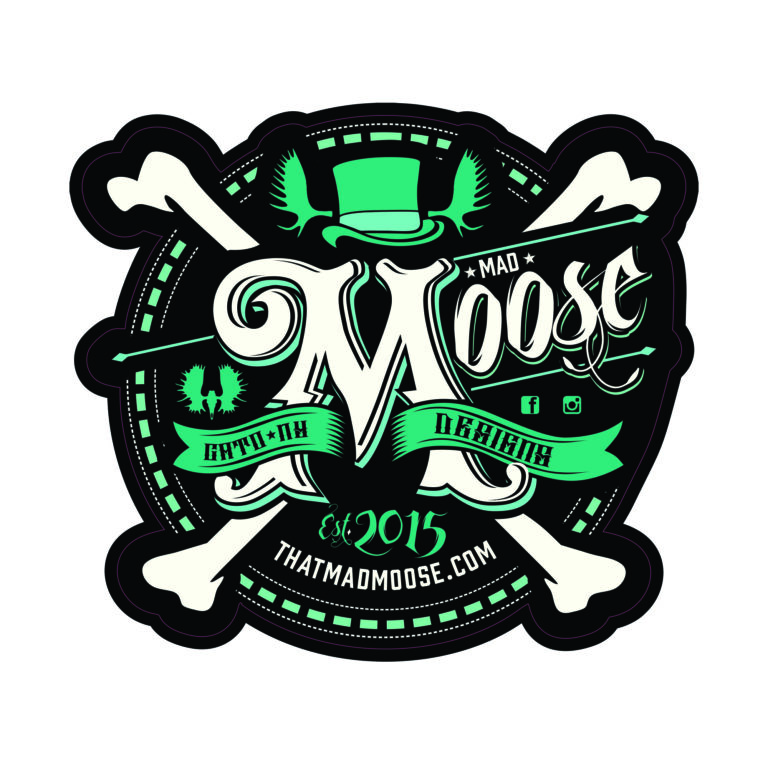 Image of Mad Moose Decal