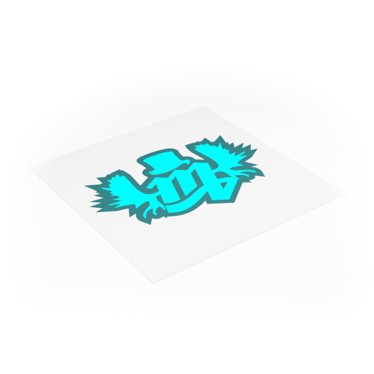 Image of Square Decal